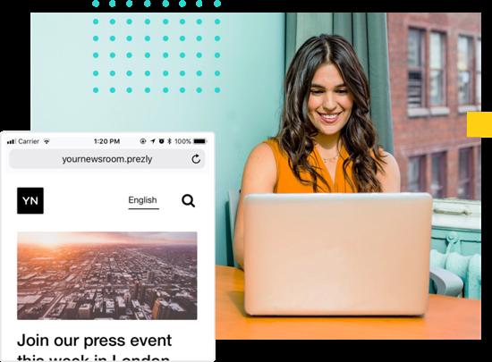 Central hub for your news (newsroom)