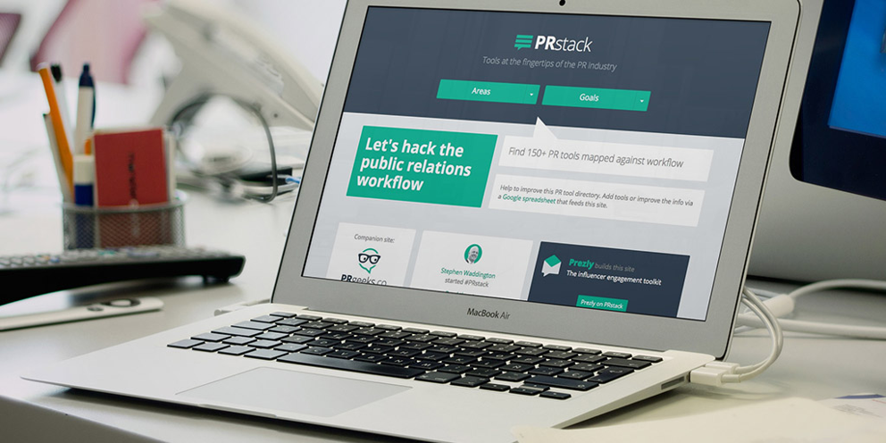 PR stack – tech to optimise your PR workflow